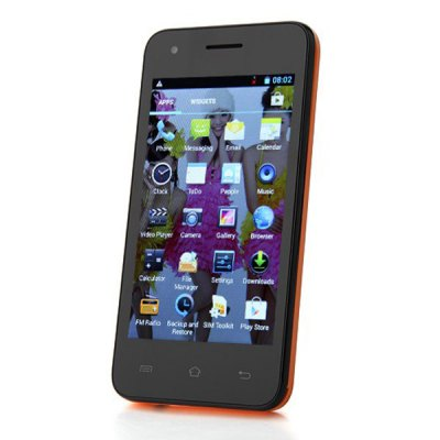 Cubot GT72 Android 4.2 4 inch WVGA MTK6572 Dual Core Dual Band GPS Smartphone
