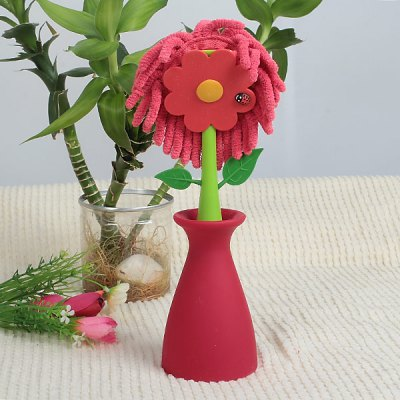 Lovely Flower Appearance Houseware Cleaning Duster  -  RedHome Gadgets<br>Lovely Flower Appearance Houseware Cleaning Duster  -  Red<br><br>Type: Practical<br>For: All<br>Material: Plastic, Fiber<br>Occasion: Home, School<br>Features: Lovely appearance may act as a toy for kids when unused; With Lovely appearance may act as a toy for kids when unused; With Lovely appearance may act as a toy for kids when unused; With lovely flower<br>Product weight   : 0.143 kg<br>Package weight   : 0.2 kg<br>Product size (L x W x H)   : 24 x 7 x 7 cm<br>Package size (L x W x H)  : 25 x 7.5 x 7.3 cm<br>Package contents: 1 x Duster