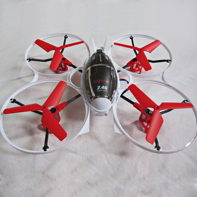 Syma X3 High Performance 2.4G 4 - channel Built - in 3D Gyro RC Stunt Aircraft/Quadcopter