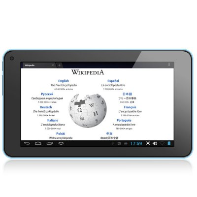 Гаджет   Android 4.2 V8880 Tablet PC WM8880 Dual Core 1.5GHz 4GB ROM Dual Cameras WiFi with 7 inch WVGA Screen Tablet PCs