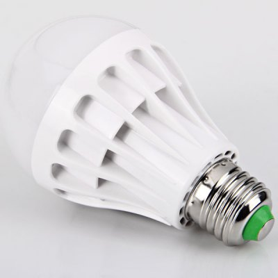 E27 22 - SMD 2835 LED 7W 85 - 265V Warm White Ball Bulb