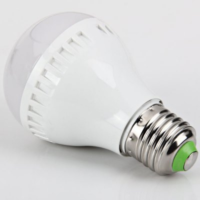 E27 3528 SMD LED 5W 85 - 265V Warm White Ball Bulb