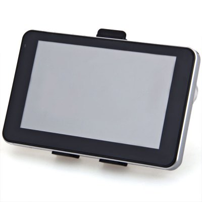 Фотография AW-555 5 inch 800 x 480 TFT Touch Screen 128M Ram 4GB Car GPS Navigator with Multimedia Function and Bluetooth
