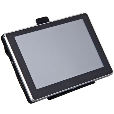 AW - 504 5 - Inch 480 x 272 TFT Touch Screen 128MB Bluetooth Car GPS Navigation with Multimedia Function