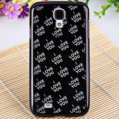 Love You Plastic Case for Samsung Galaxy S4 i9500 / i9505