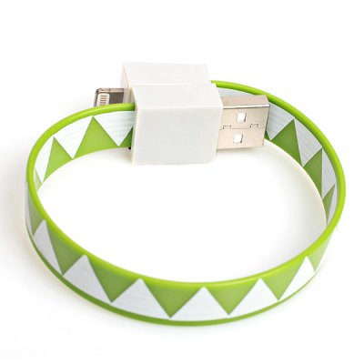 Гаджет   Support IOS7.0 Small Data Cable Together with Magnets to Form a Wristband for iPhone 5 / 5C / 5S iPhone Cables & Adapters