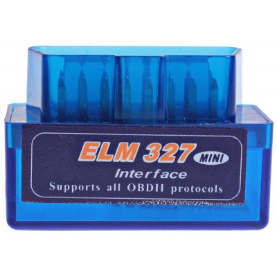 Mini ELM 327 Interface Bluetooth OBD2 Diagnostic Scanner Tool