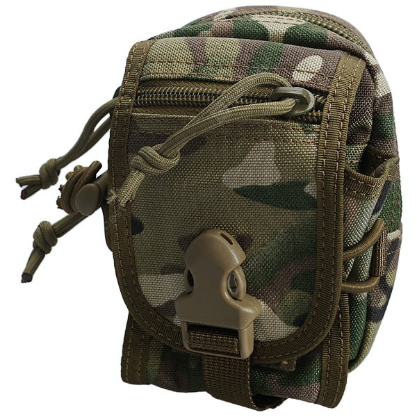 High Quality Outdoor Military Multi-function Waist Bag Waterproof Pouch - Camouflage