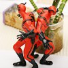 Set of 2pcs Highly Detailed American Heroes Character Model Toy Set  -  Red photo