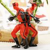 best Set of 2pcs Highly Detailed American Heroes Character Model Toy Set  -  Red