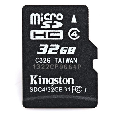 Kingston 32GB Micro SD/TF Class4 Memory Card