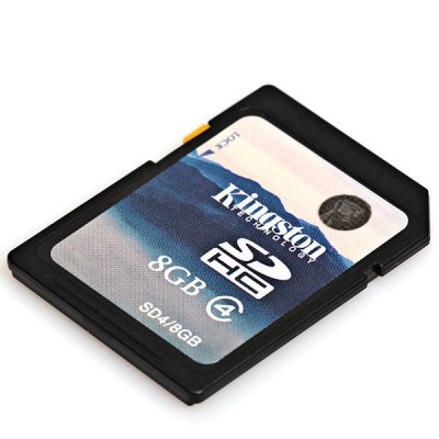 8GB Kingston Stable and Portable Class4 SD/SDHC Memory Card