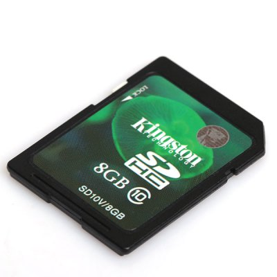 8GB Kingston High - Speed Solid Class10 SD/SDHC Memory Card