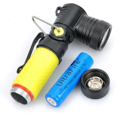 Cree XR - E Q5 3 - Mode 310lm 14500 Flashlight with 14500 Battery
