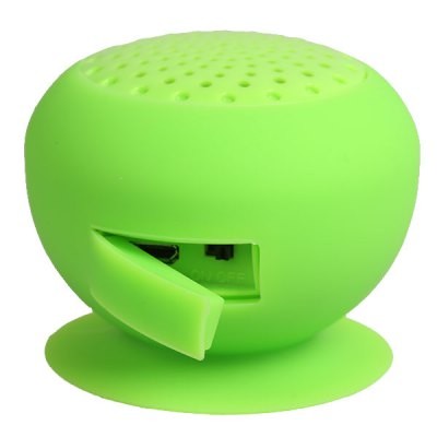 MR001 Cute Mushroom Shape Water Resistant Wireless Bluetooth Speaker for iPhone 6S / 6S Plus / iPad Pro