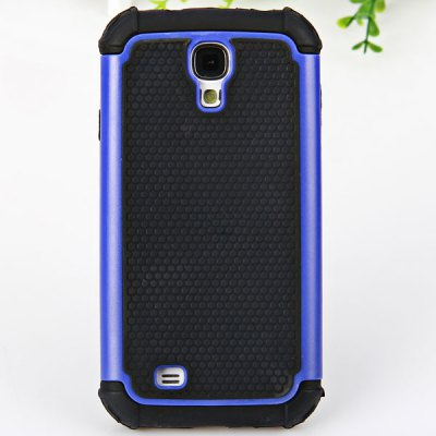 Football Line Silicone and Plastic Double Layers Case for Samsung Galaxy S4 i9500 / i9505