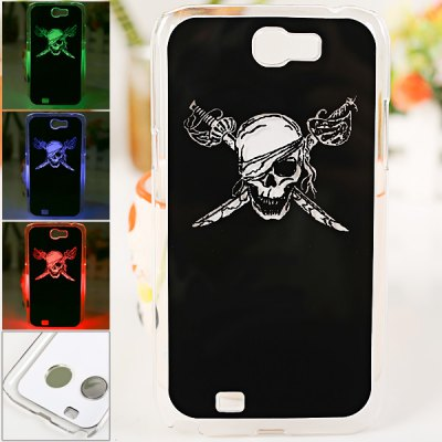 LED Flash Light Case for Samsung Galaxy Note 2 N7100