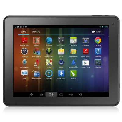 Фотография Q97 Android 4.2 Tablet PC with 9.7 inch XGA Screen A20 Dual Core 1GHz 8GB ROM Camera WiFi HDMI