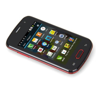 3.5 inch S33 Android 4.0 Smartphone MTK6515 1GHz HVGA Screen Analog TV Dual Cameras WiFi