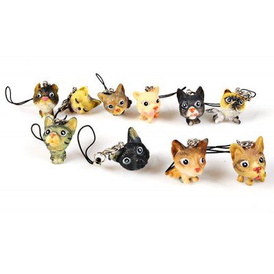 Cute Cat Model Toy Pendent