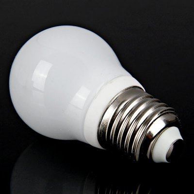 E27 1 - LED 5W 100 - 240V White Ball Bulb
