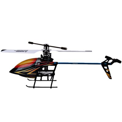 Syma F3 4 - Channel 2.4G GYRO System Dual Protection RC Helicopter with LCD Transmitter (Red)