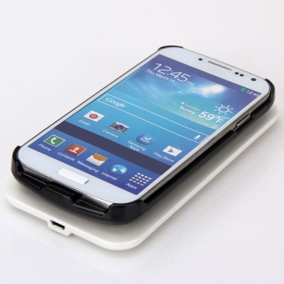 Wireless Charger + Backcup Case Receiver for Samsung Galaxy S4 i9500 / i9505