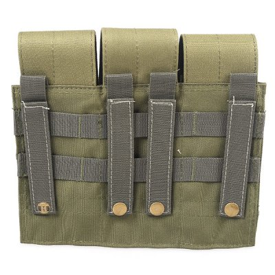 High Quality Multifunction 3 League Toolkit Bag Outdoor Sundries Pack - Army Green