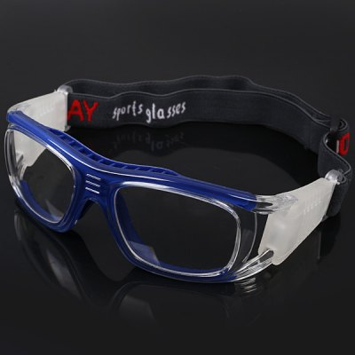 6d5683201f42 Exquisite Anti-shock Basketball Glasses Sports Safety Goggles Soccer  Football Eyewear - Blue
