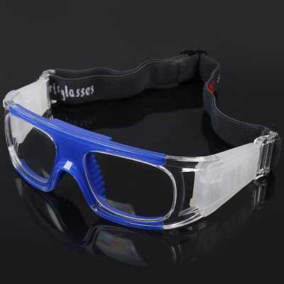 Anti-shock Basketball Glasses Sports Safety Goggles Soccer Football Eyewear - BlueSports Goggles<br>Anti-shock Basketball Glasses Sports Safety Goggles Soccer Football Eyewear - Blue<br><br>Type: Basketball goggles<br>For: Basketball, All kinds of sports<br>Material: High quality PC<br>Functions: Anti-shock, Anti-fog, Protect eyes in all kinds of sports, Anti-collision<br>Lens width: 5.2 cm<br>Glasses width: 14 cm<br>Lens height: 4 cm<br>Nose pad: Comfortable silicon<br>Color: Blue<br>Product weight   : 0.062 kg<br>Package weight   : 0.230 kg<br>Package size (L x W x H)  : 18 x 7 x 13 cm<br>Package Contents: 1 x Glasses, 1 x Glasses Pouch, 1 x Box