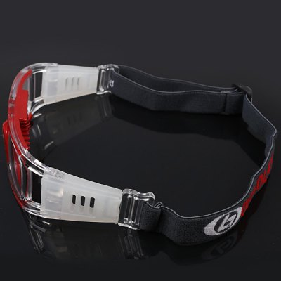 Anti-shock Basketball Glasses Sports Safety Goggles Soccer Football Eyewear - Red
