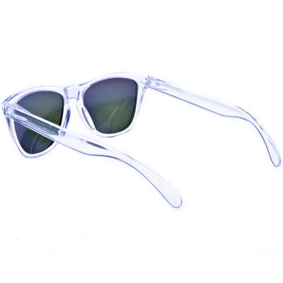 High Quality Polarized Sunglasses with TR90 Material Frame and Purple Lens