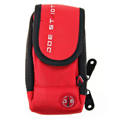 Outdoor Equipments Terylene Cycling Vertical Phone Bag with Inside Outside Waterproof Material (Red)