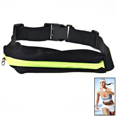 Zippers Waist-Bag Stretch