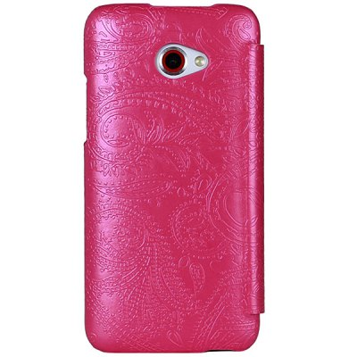 Гаджет   USAMS PU Leather Cover Case with Forever Young Series Design for HTC Butterfly S Other Cases/Covers