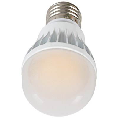 E27 5W 100 - 240V 400lm Warm White Ball Bulb