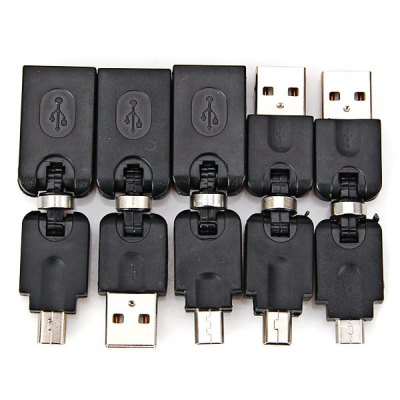 High Quality Practical 5 USB Multi Adapter Suit