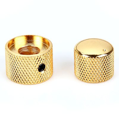 KB-24 Practical Gold Dual Concentric Control Knob for Bass Guitar