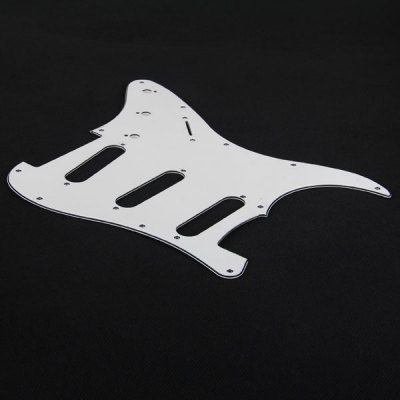 MAL-001 Professional High Quality PVC 3-PLY Pickguard Scratch Plate for Electric Guitar - Left Hand