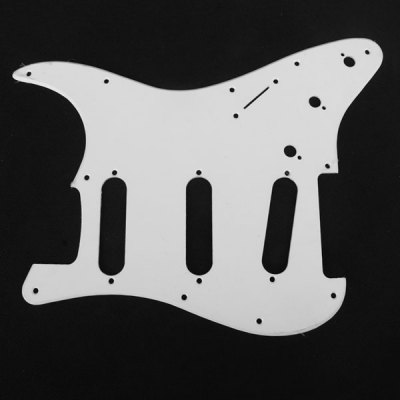 MA-024 Professional PVC 1-PLY Pickguard Scratch Plate for Electric Guitar