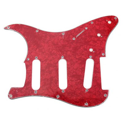 MA-016 Professional Pearl PVC 3-PLY Pickguard Scratch Plate for Electric Guitar