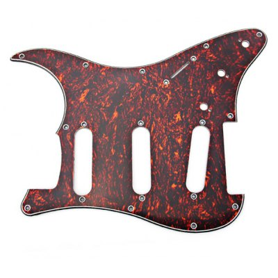 Shell Celluloid and PVC 3-PLY Electric Guitar Pickguard