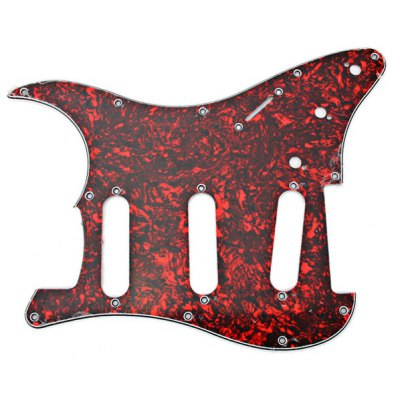 MA-006 Professional Tortoise Shell PVC 3-PLY Pickguard Scratch Plate for Electric Guitar
