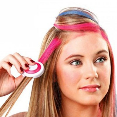 Fashion Beauty Products 4 Colors Disposable Hair Chalk