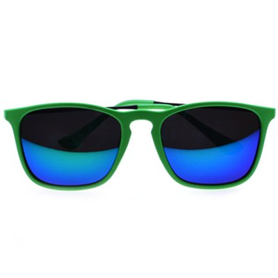 Retro Style Polarized Sunglasses with Sand-green Frame and Blue LensesStylish Sunglasses<br>Retro Style Polarized Sunglasses with Sand-green Frame and Blue Lenses<br><br>Anti-UV level: 400<br>Earstems length: 13.8 cm<br>Frame Color: Sand Green<br>Frame material: High-nickel alloy<br>Gender: Unisex<br>Glasses width: 13.8 cm<br>Lens Color: Blue<br>Lens height: 4.3 cm<br>Lens width: 5.5 cm<br>Nose bridge width: 2 cm<br>Package Contents: 1 x Sunglasses,1 x Case<br>Package size (L x W x H): 17.5 x 9 x 6 cm<br>Package weight: 0.120 kg<br>Product weight: 0.028 kg<br>Type: Polarized Sunglasses