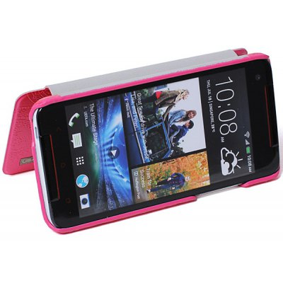 USAMS PU Leather Cover Case with Forever Young Series Design for HTC Butterfly S