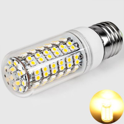 E27 108 x 3528 SMD LED 200-240V 520 Lumens 6W LED Corn Light