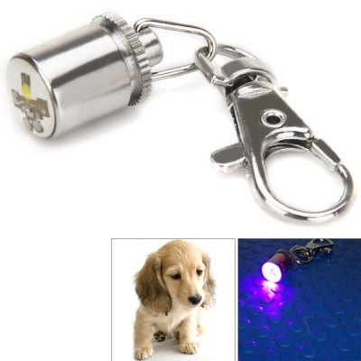 Pet Safety LED Flash Light with Keychain