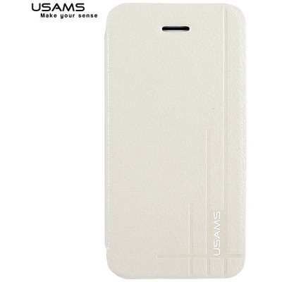 USAMS Stylish Starry Sky Series Durable PU Leather Protective Shell Case for iPhone 5C