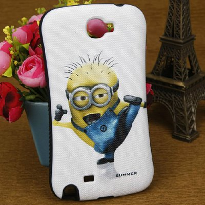 Despicable Me Silicone + PC Case for Samsung Galaxy Note 2 N7100